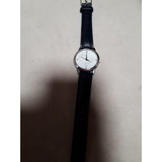 クレイサス(CLATHAS)の美品 大人女子 クレイサス腕時計 ネイビー(腕時計)