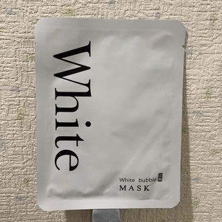 ホワイトバブルマスク 単品9枚(パック/フェイスマスク)