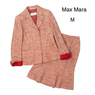 マックスマーラ(Max Mara)の【イタリア製】MAXMARA マックスマーラ 白タグ セットアップ M(スーツ)