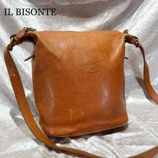 イルビゾンテ(IL BISONTE)のイルビゾンテ ショルダーバッグ ブラウン ヴィンテージ レディース 鞄 茶(ショルダーバッグ)