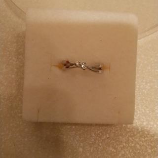 テイクアップ(TAKE-UP)のK18WGダイヤモンドリング(リング(指輪))