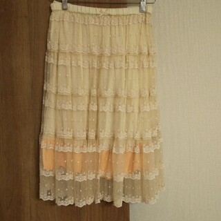 franche lippee - フランシュリッペ レーススカート