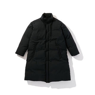 COMOLI - 20AW Polyploid Stand Collar Puffe Coat
