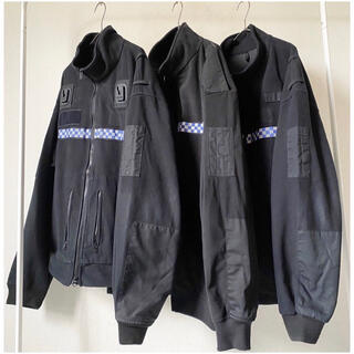 Yohji Yamamoto - m/tall vintage イギリス警察 ポリス リフレクターフリースブルゾン