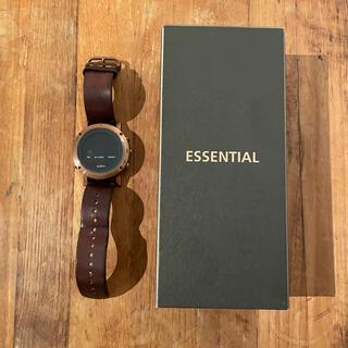 スント(SUUNTO)のスント エッセンシャルカッパー suunto (腕時計(デジタル))