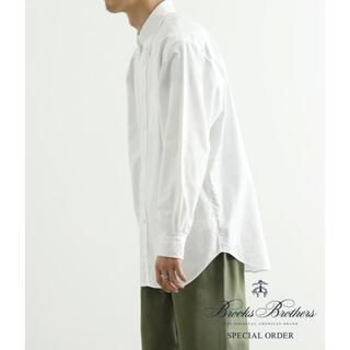 Brooks Brothers - クリーニング済 ブルックスブラザーズ 白シャツ