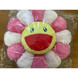 メディコムトイ(MEDICOM TOY)のFlower Cushion クッション Pink 60cm 村上隆(クッション)