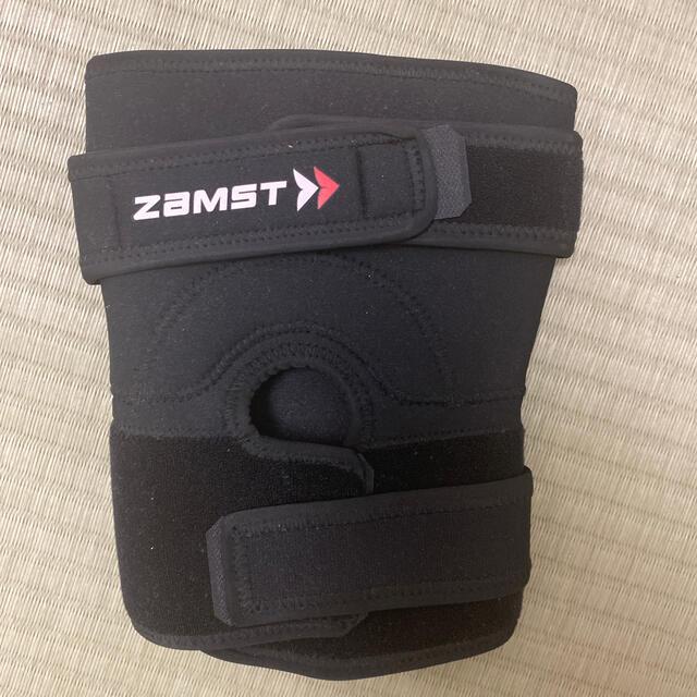 ZAMST(ザムスト)のザムスト 膝サポーター Lサイズ スポーツ/アウトドアのトレーニング/エクササイズ(トレーニング用品)の商品写真