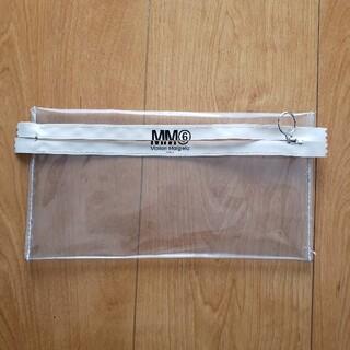 エムエムシックス(MM6)のMM6 メゾン マルジェラ クリアポーチ(ポーチ)