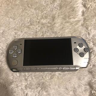 プレイステーションポータブル(PlayStation Portable)のPSP 3000 シルバー(携帯用ゲーム機本体)