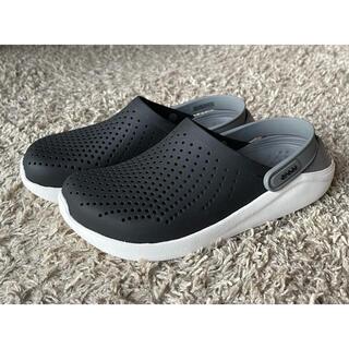 crocs - crocs/LiteRide Clog/Black Smoke/25cm