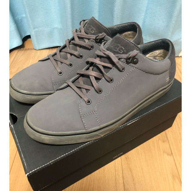 UGG(アグ)のUGG  アグ スニーカー グレー M BROCK メンズの靴/シューズ(スニーカー)の商品写真