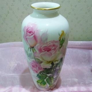 ノリタケ(Noritake)のオールドノリタケ花瓶(花瓶)
