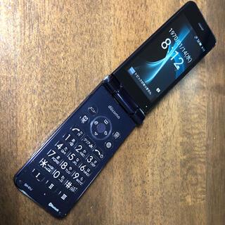 アクオス(AQUOS)のdocomo SH-01J 充電スタンド 説明書付き(携帯電話本体)