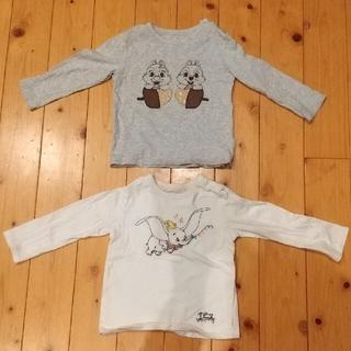 ユニクロ(UNIQLO)の【専用】♡ディズニーコラボ  ユニクロロンT  100cm  2点セット(Tシャツ/カットソー)
