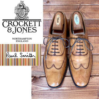 Crockett&Jones - 《Crockett&Jones × Paul Smith》ブラインドフルブローグ