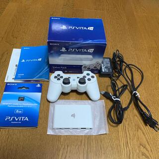 プレイステーション(PlayStation)のSONY PlayStationVITA 本体  VTE-1000 AA01(携帯用ゲーム機本体)