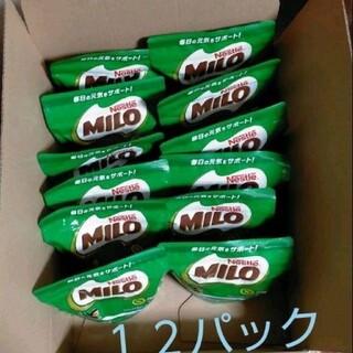 Nestle ネスレオリジナルミロ袋タイプ 240g ×12袋(その他)