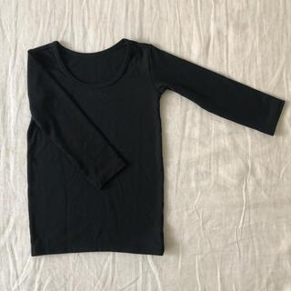 ユニクロ(UNIQLO)のUNIQLO ユニクロ ヒートテック 上下 90サイズ(Tシャツ/カットソー)