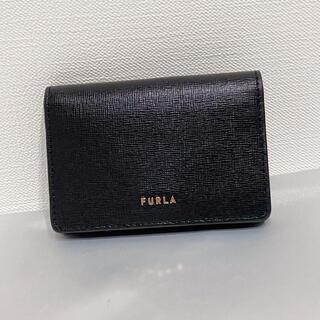 Furla - 【02/28までの出品】FURLA/名刺入れ ブラック