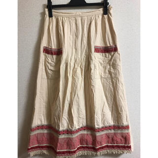 ネネット(Ne-net)のNe-net 刺繍ロングスカート(ロングスカート)