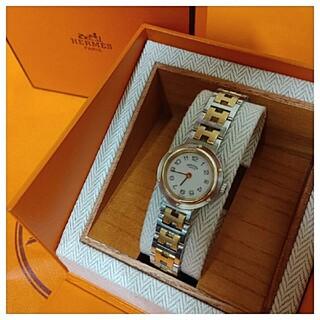 Hermes - エルメス時計 極極美品 クリッパー ・ レディース