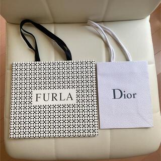 Furla - FURLA & DIOR ショッパー 紙袋