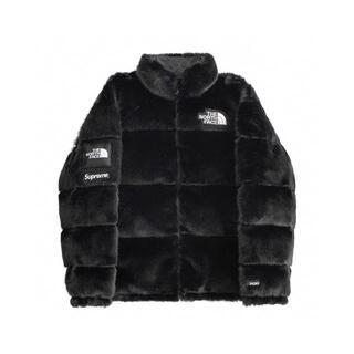 美品中古品 Supreme North Faux Fur Nuptse Jack(ダウンジャケット)