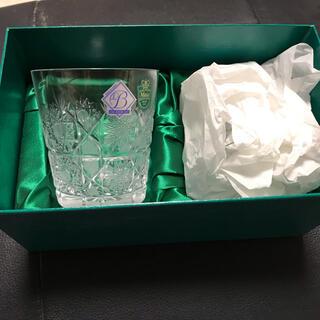 新品 未使用 ラスカボヘミアグラス ペア コップ(グラス/カップ)