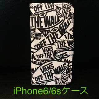 iPhone6 iPhone6s VANS カバー 手帳型 ケース(iPhoneケース)