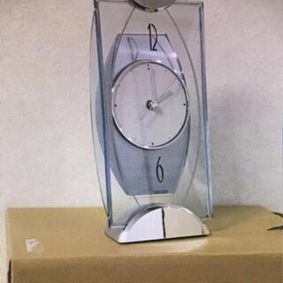 セイコー(SEIKO)の【匿名配送・新品未使用】SEIKO 置き時計BZSS4S【送料込み】(オフィス用品一般)