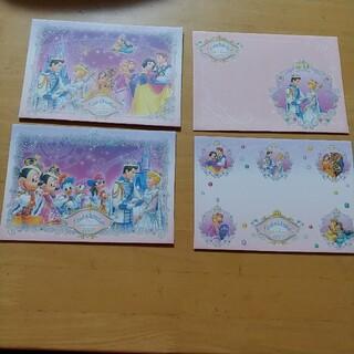 ディズニー(Disney)のディズニーランド2008Cinderellabration封筒8枚(キャラクターグッズ)