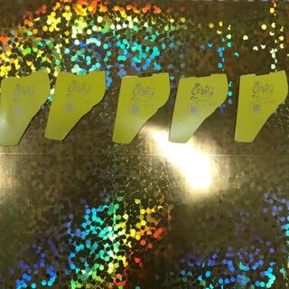 モリナガセイカ(森永製菓)の【即発送】銀のエンゼル5枚セット★ キョロちゃんおもちゃのカンヅメ(キャラクターグッズ)