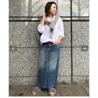 ドゥーズィエムクラス(DEUXIEME CLASSE)の *6397 Long Denim Skirt(ロングスカート)