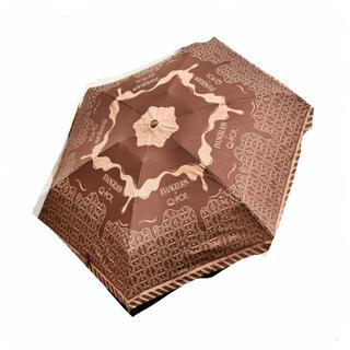 キューポット(Q-pot.)のキューポット メルティインパクト アンブレラ チョコレート柄 Q−pot 新品(傘)