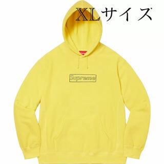シュプリーム(Supreme)のSupreme KAWS Chalk Logo シュプリーム ボックスロゴ (パーカー)