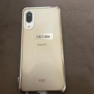 アクオス(AQUOS)のAQUOS sense3 lite シルバーホワイト 64 GB SIMフリー (スマートフォン本体)