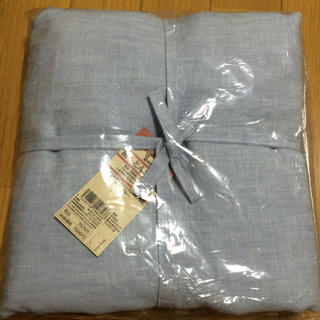 ムジルシリョウヒン(MUJI (無印良品))の無印良品 掛け布団カバー セミダブル(シーツ/カバー)
