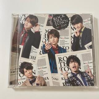 セクシー ゾーン(Sexy Zone)のSexyZone ROCK THA TOWN 初回限定盤B セクゾ(ポップス/ロック(邦楽))