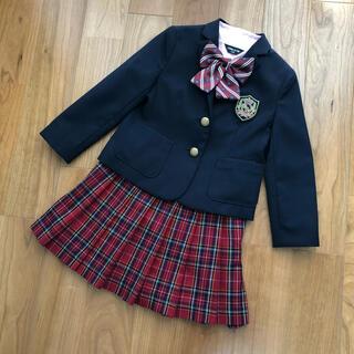 コムサイズム(COMME CA ISM)のコムサイズム 女の子 スーツ 110 卒園 入学 フォーマル コムサ チェック(ドレス/フォーマル)