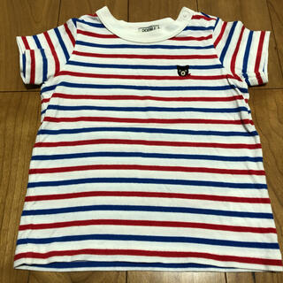 DOUBLE.B - ミキハウス ダブルビー ボーダー半袖Tシャツ 80