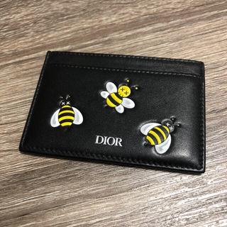 ディオール(Dior)のディオール DIOR カウズ KAWS カードケース 名刺入れ レザー(名刺入れ/定期入れ)