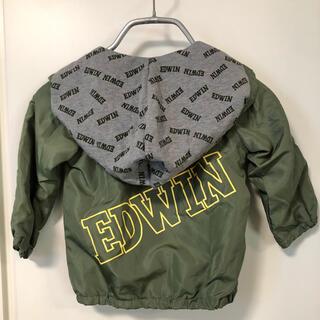 エドウィン(EDWIN)の90サイズ/EDWIN エドウィン フード付きジャンパー(ジャケット/上着)
