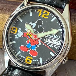 セイコー(SEIKO)の★大人気・美品★SEIKO★ミッキーマウス★ヴィンテージ★自動巻き★メンズ ★(腕時計(アナログ))