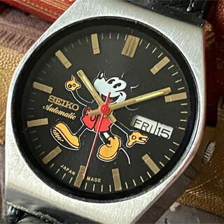 セイコー(SEIKO)の大人気・美品★SEIKO★ミッキーマウス★ヴィンテージ★自動巻き★メンズ 腕時計(腕時計(アナログ))