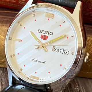 セイコー(SEIKO)の★大人気★SEIKO5★ヴィンテージ★自動巻き★メンズ 腕時計★動作良好★(腕時計(アナログ))