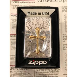 ジッポー(ZIPPO)のzippo ジッポライター  クロスコンビ 新品未使用(タバコグッズ)