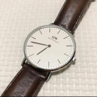 ダニエルウェリントン(Daniel Wellington)の【美品】腕時計 Daniel Wellington 35mm Classic(腕時計)