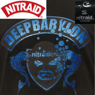 ナイトレイド(nitraid)のナイトレイド◆ナイトレイダーズ ロゴ Tシャツ 日本製◆ブラック Mサイズ(Tシャツ/カットソー(半袖/袖なし))