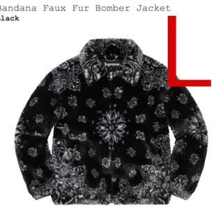 Supreme - Supreme Bandana Faux Fur Bomber Jacket 黒